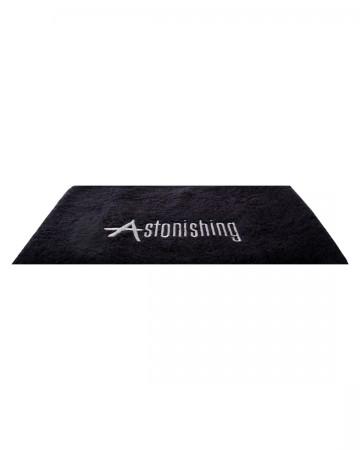 Black Towel with Logo